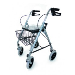 Rollator 4 roues Silver
