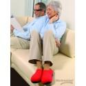 Chaussons de relaxation chauffants