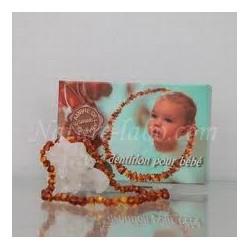 Collier ambre bébé
