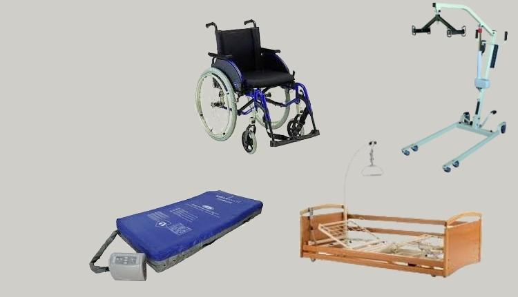 Location de fauteuils roulants, lits orthopédiques...